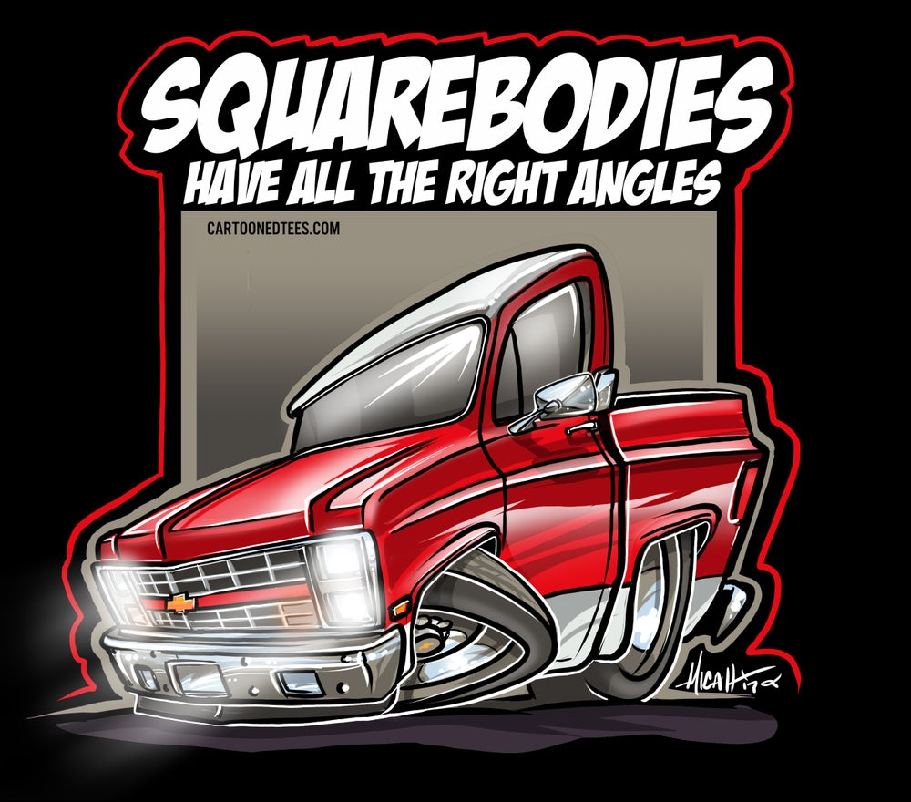 Image of 85 Squarebody Red