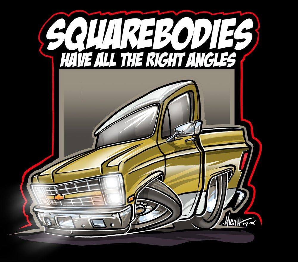 Image of 85 Squarebody Gold