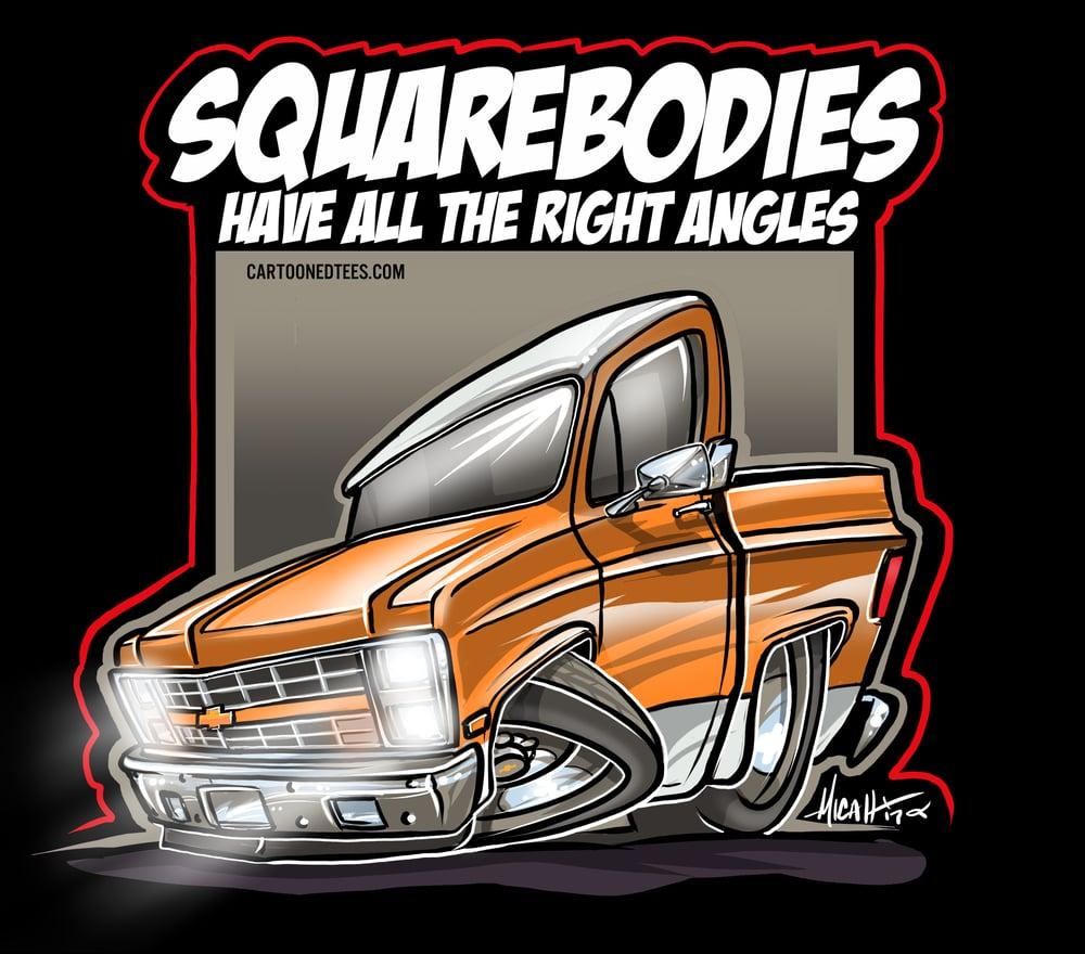 Image of 85 Squarebody Orange