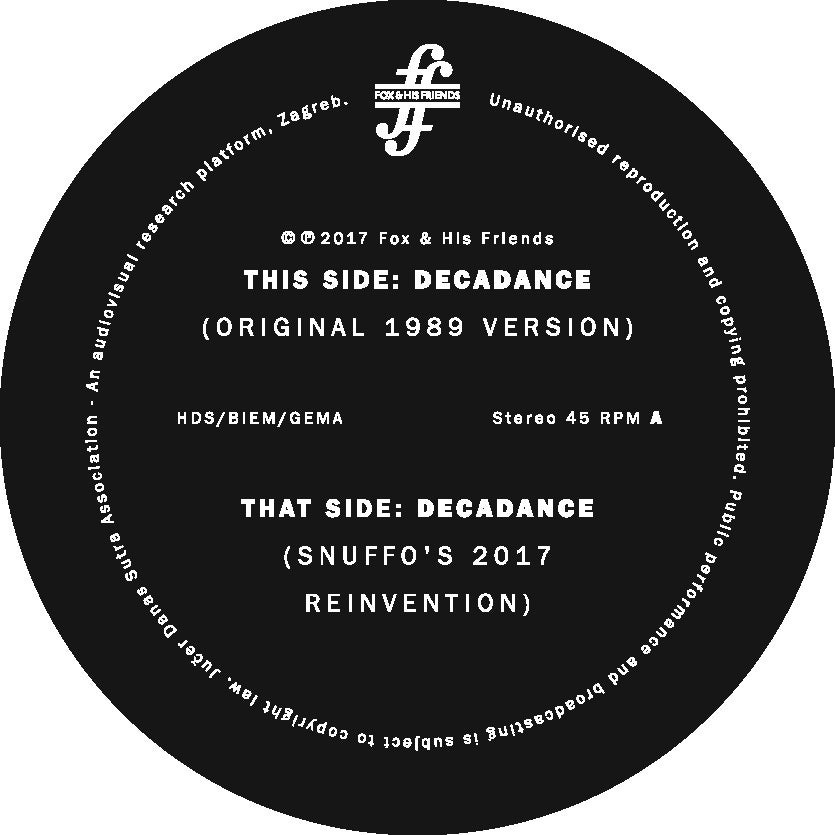 Image of NEP - Decadance 12'' (STANDARD EDITION)