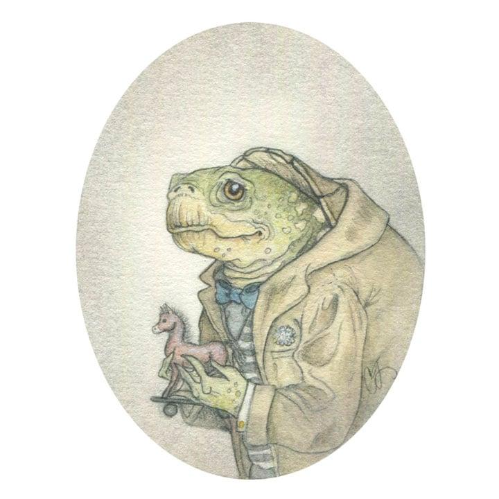 Image of Duncan Diggory 5x7 print