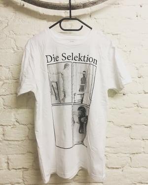 Image of Die Selektion - Deine Stimme Ist Der Ursprung Jeglicher Gewalt T-Shirt white