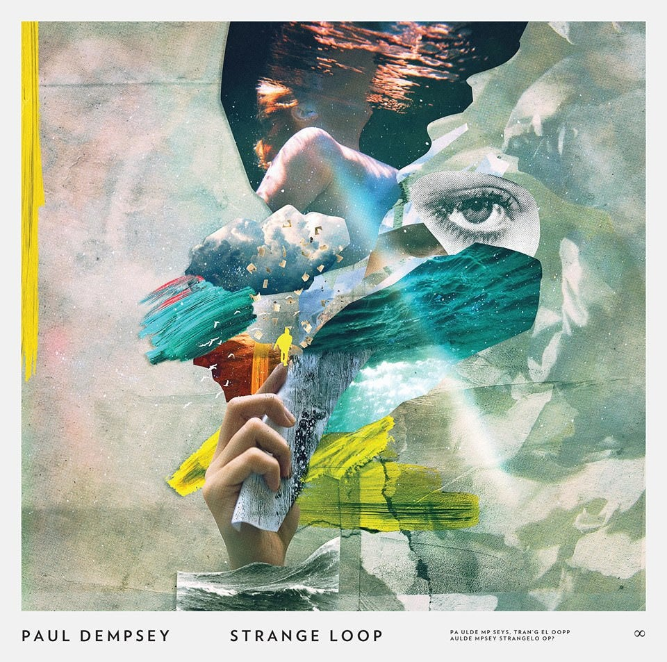 Image of Paul Dempsey - 'Strange Loop' CD jewel case