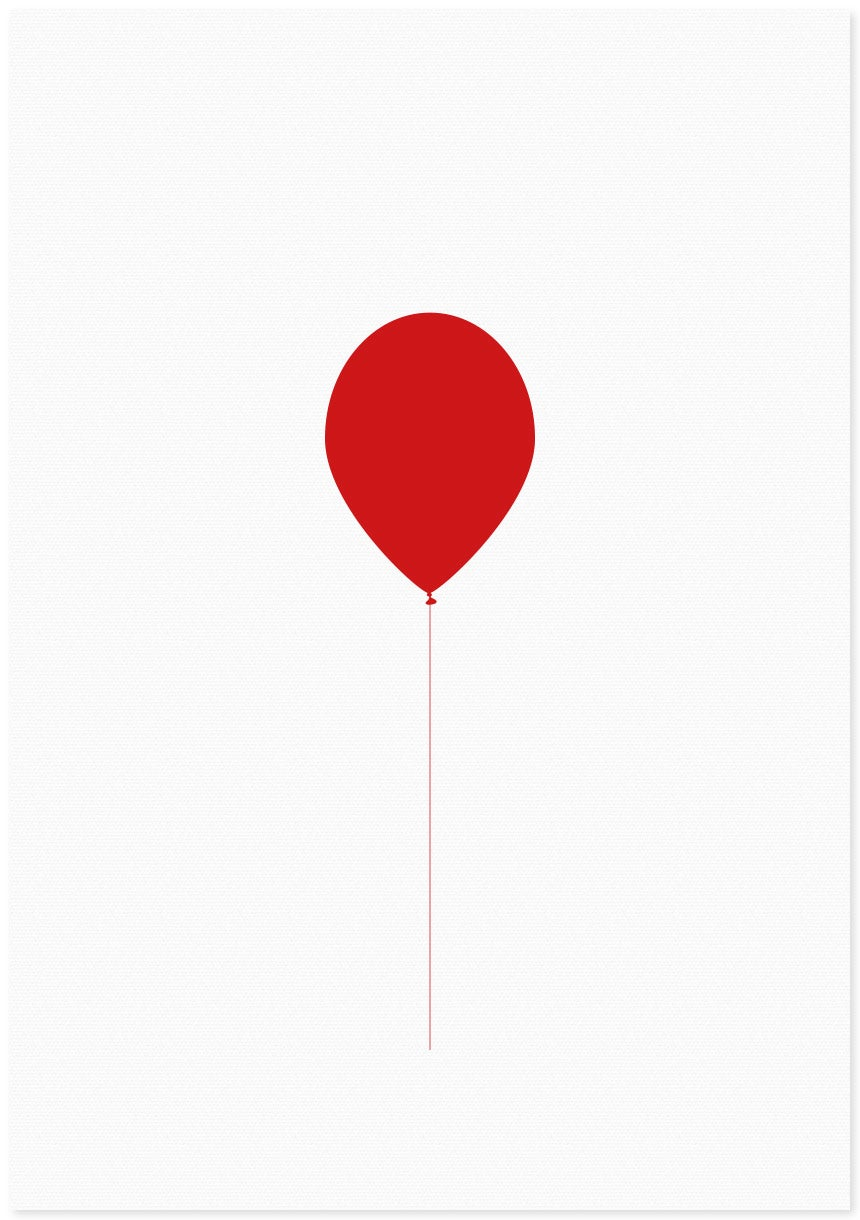 Image of balloon | red