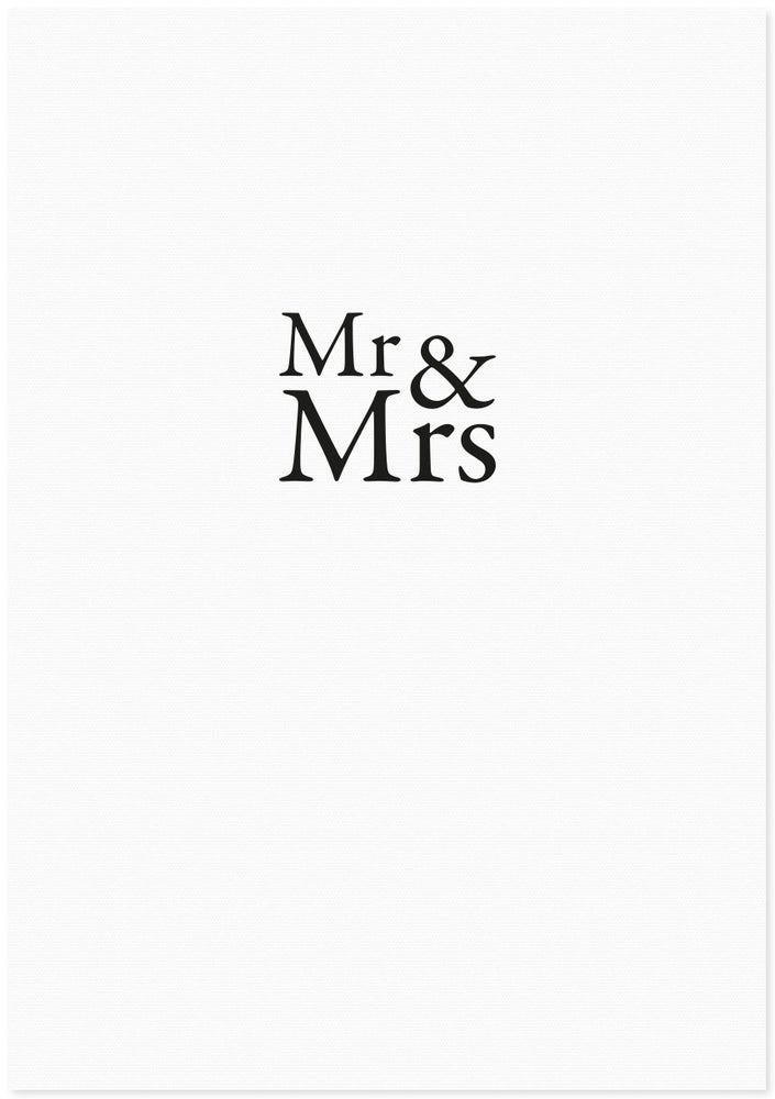 Image of mr & mrs