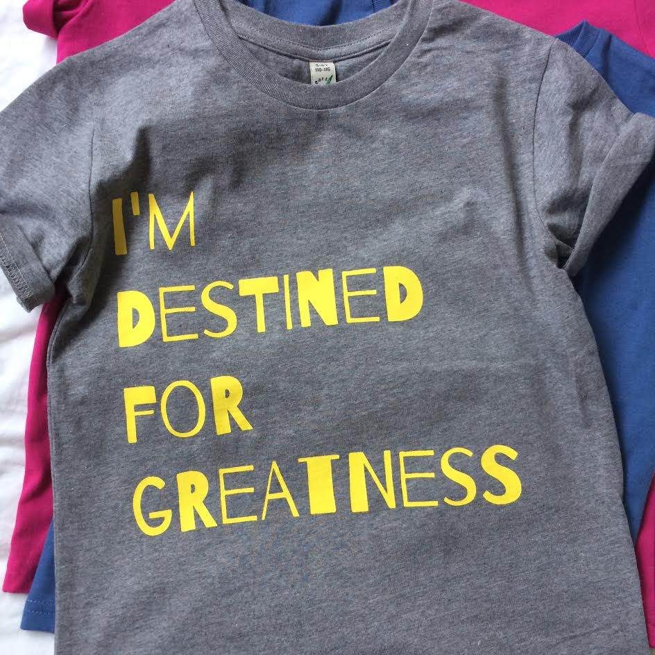 Image of 'Greatness T' Grey