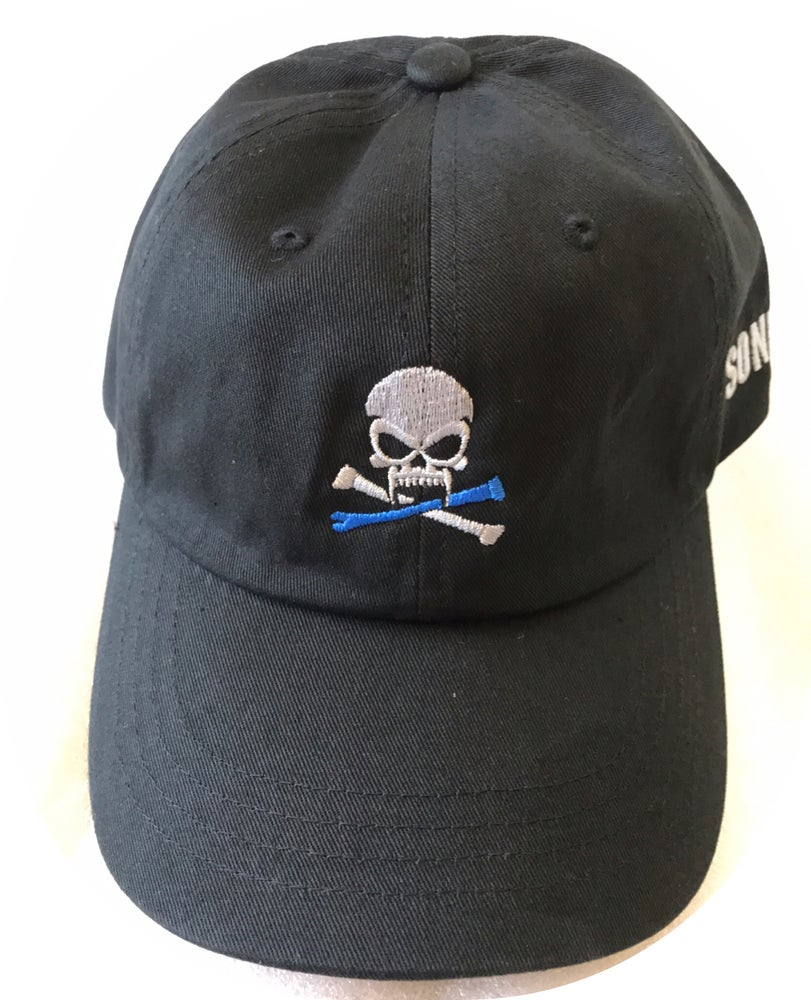 Image of Sonkei Blue Classic Dad Hat Black