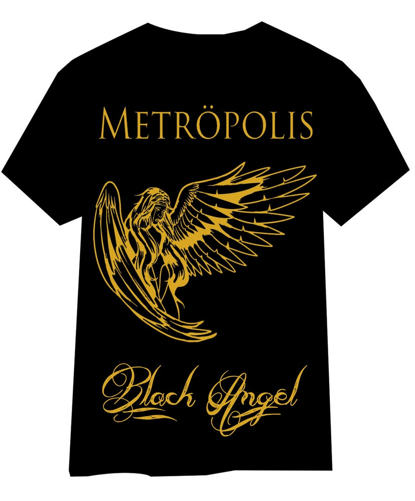 Image of Black Angel T Shirt 2016
