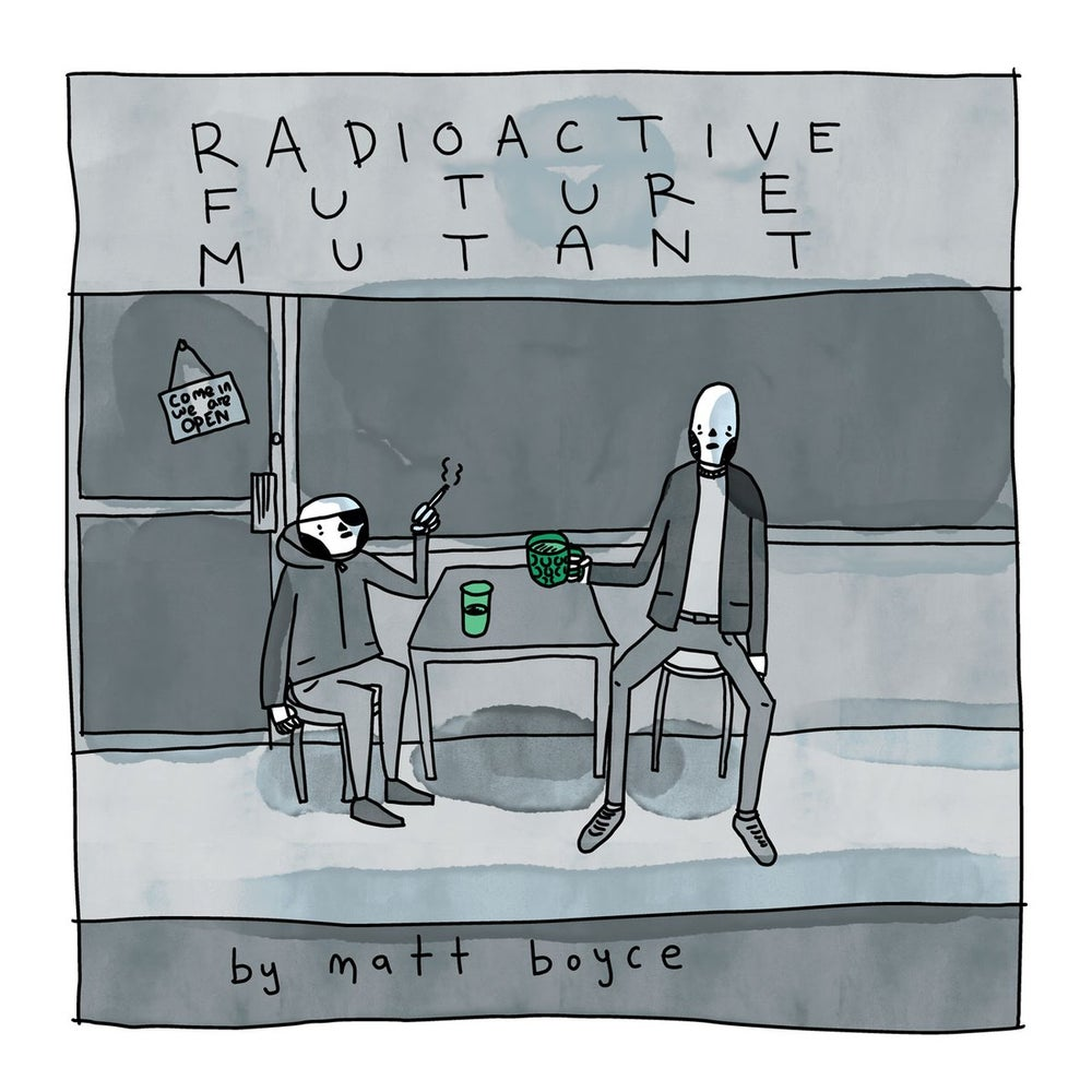 Image of RADIOCTIVE FUTURE MUTANT - COMIC - Special Xmas Offer