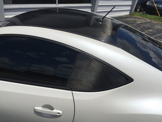 Image of FRS/BRZ/GT86 carbon quarter window panels