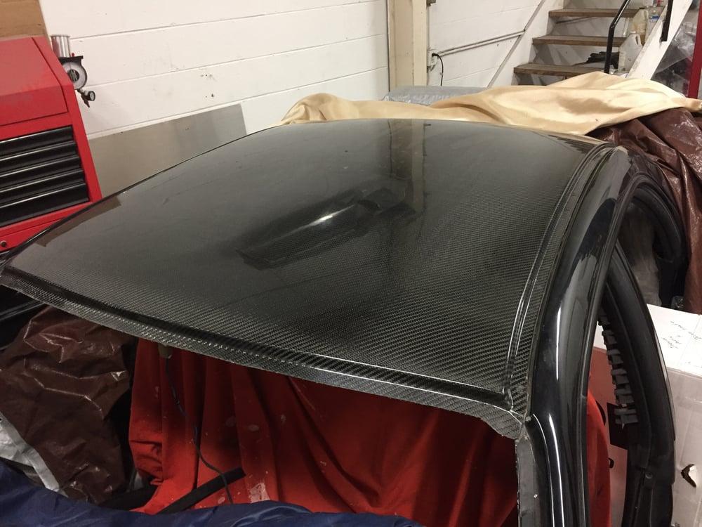 Image of Subaru GD sedan dry carbon roof