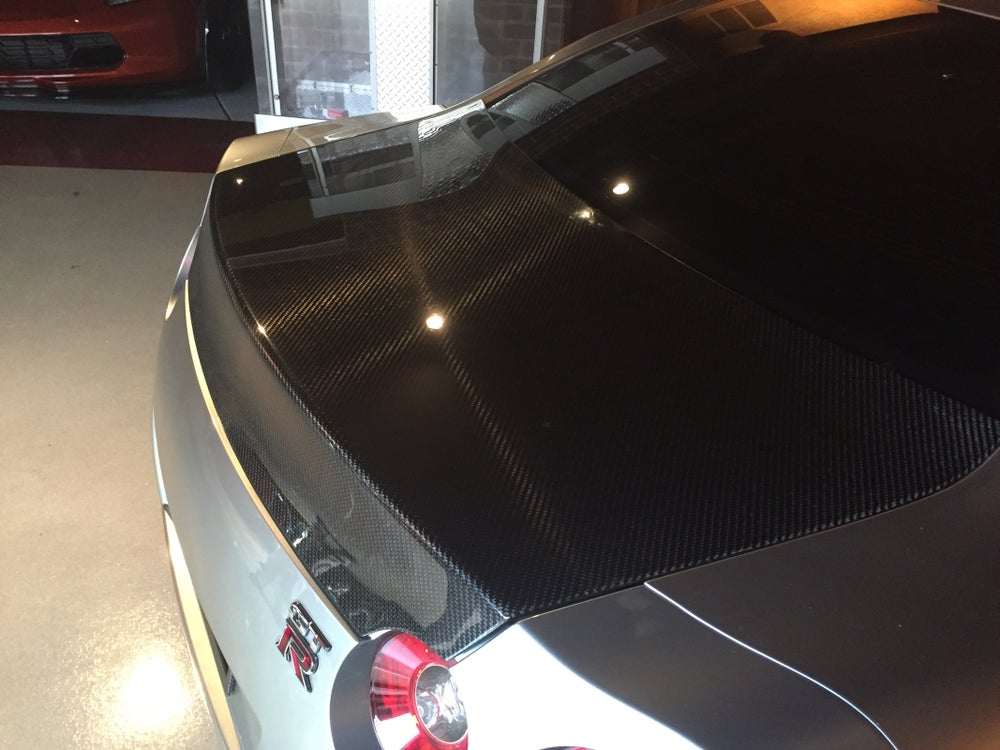 Image of Nissan R35 GTR GTspec trunk