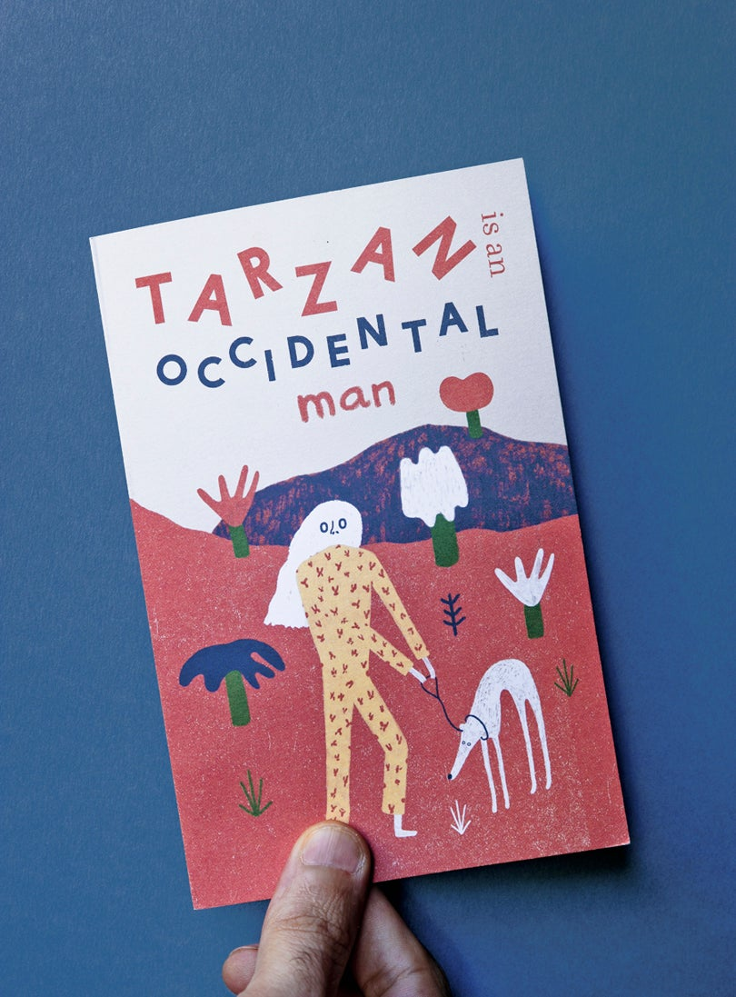 Image of Tarzan is an occidental man