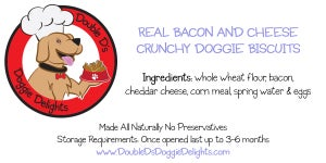 Image of Crunchy Real Bacon & Cheese Dog Biscuits