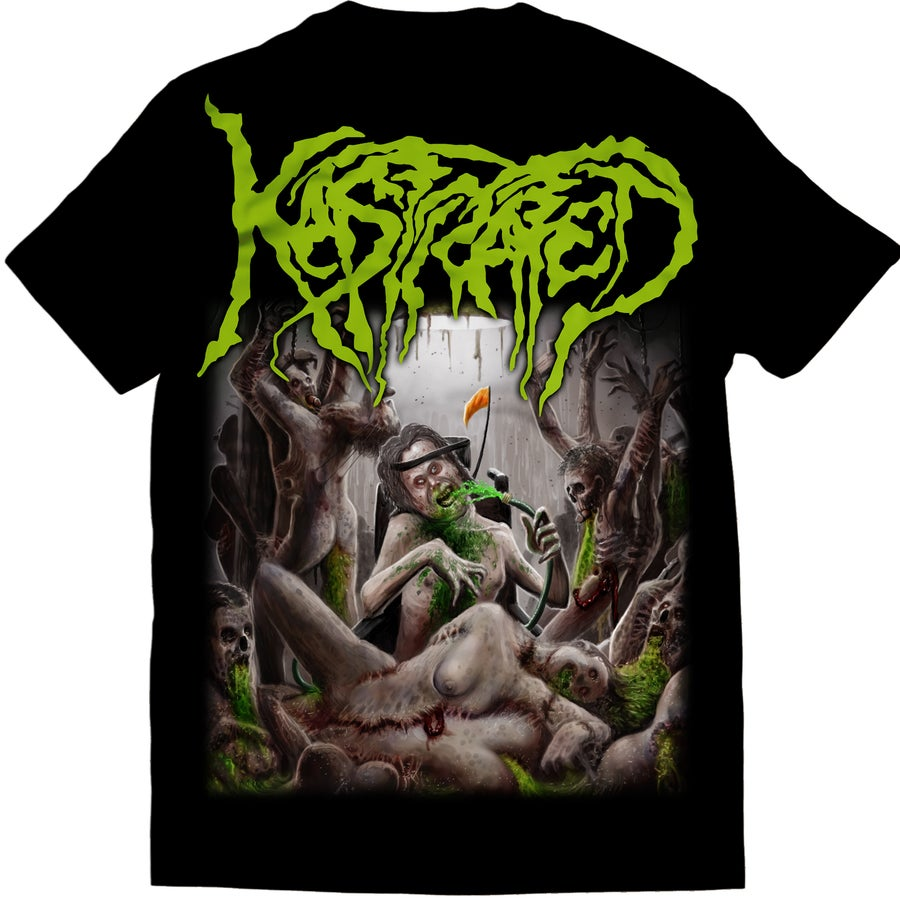 Image of Kastrated - Surge Of Festering Spasticity - T-Shirt