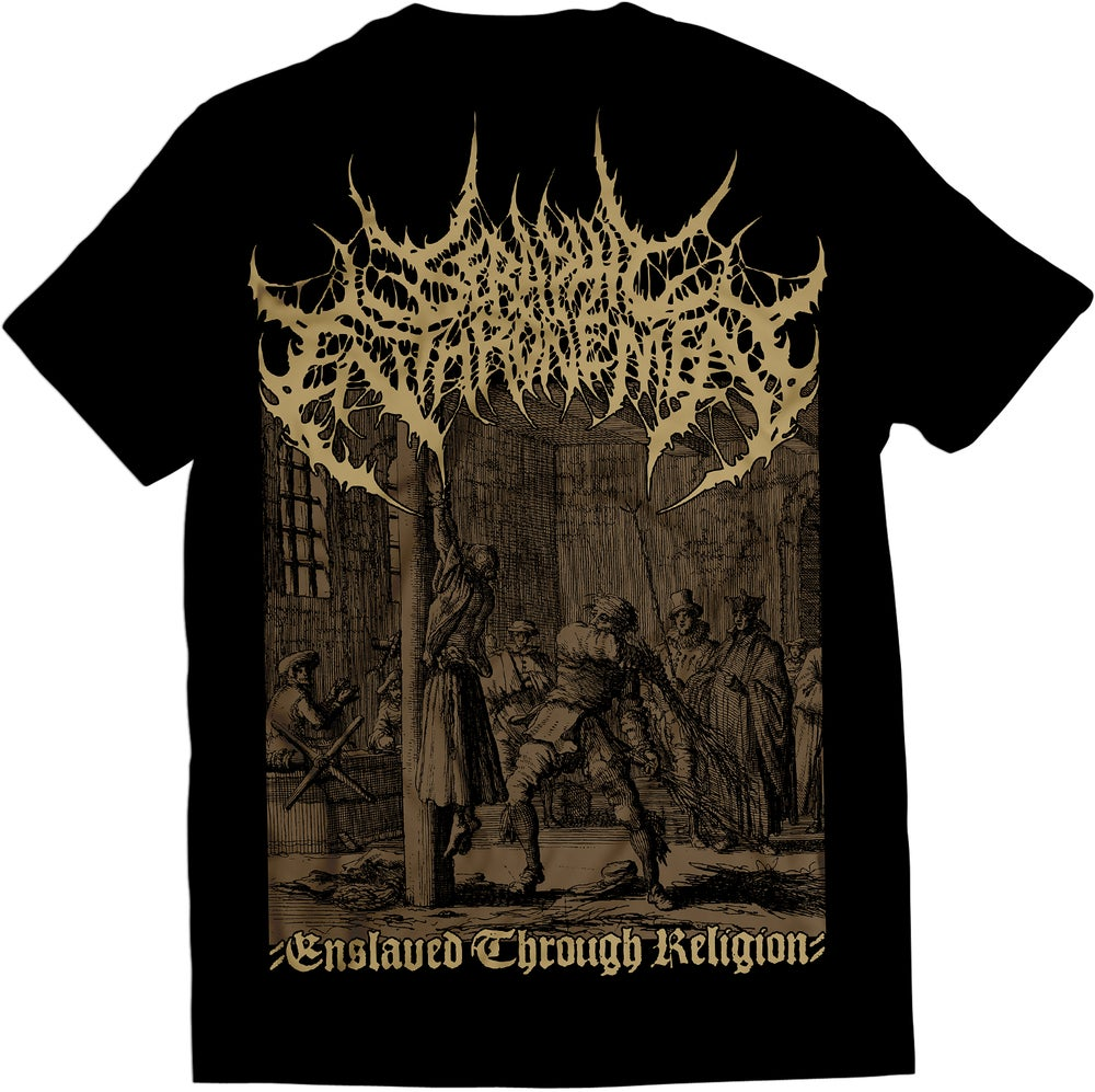 Image of Seraphic Enthronement - Enslaved Through Religion - T-Shirt