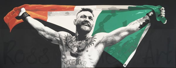 Image of 'IRISH PRIDE' (100x40cm canvas print)