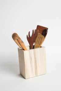Image of Kitchen Utensil Holder in Urban Timber