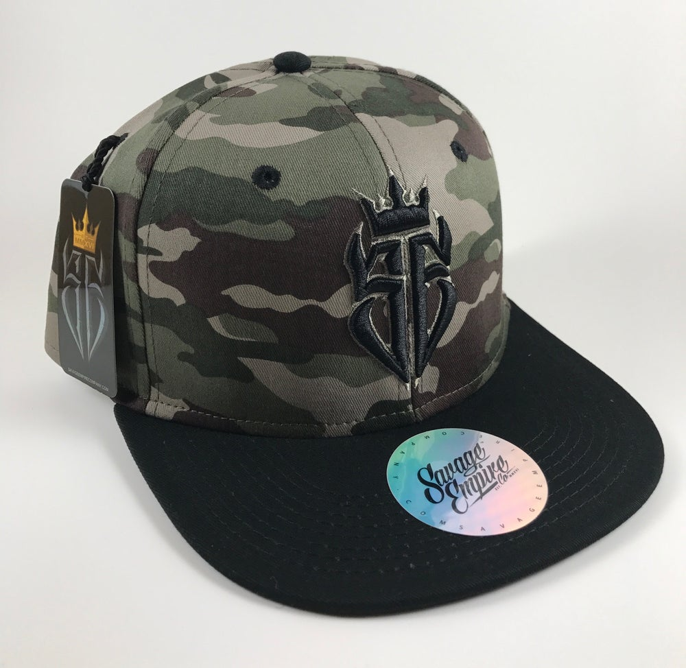 Image of Camo & Black SE Hats