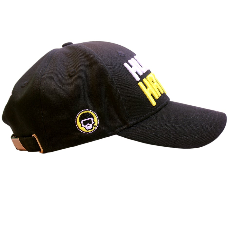 Image of FM Human Hater Dad Hat (Black)