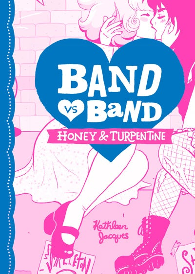 """Image of """"Band Vs Band: Honey & Turpentine"""" Limited Edition Riso Comic"""