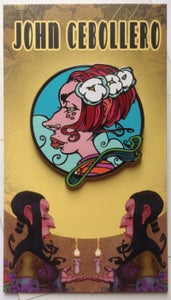 """Image of """"EVE"""" Hard Enamel Pin  -  Limited Edition Of 100"""