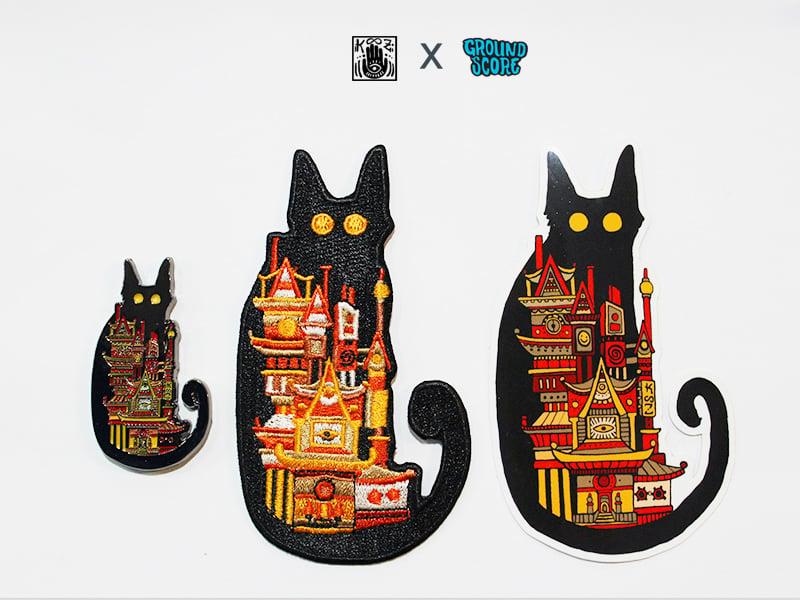 Image of KOOZ - Moon Cat Set