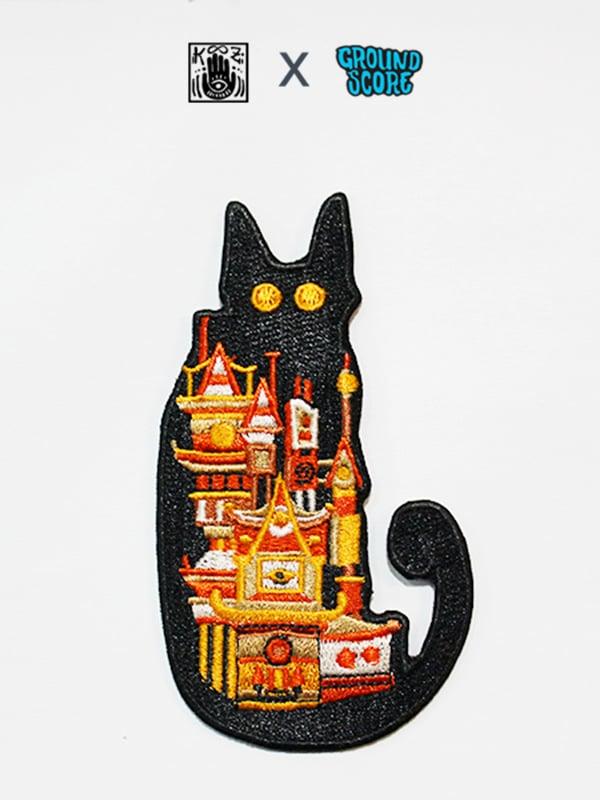 Image of KOOZ - Moon Cat Patch