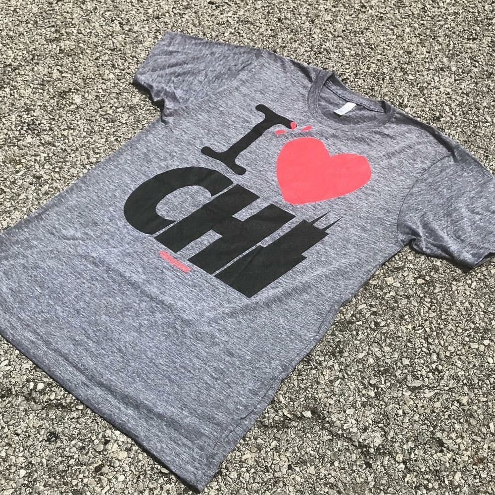 """Image of The """"I Heart Chi"""" Tee"""