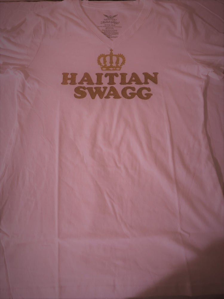 Image of Haitian Swagg all Gold V neck