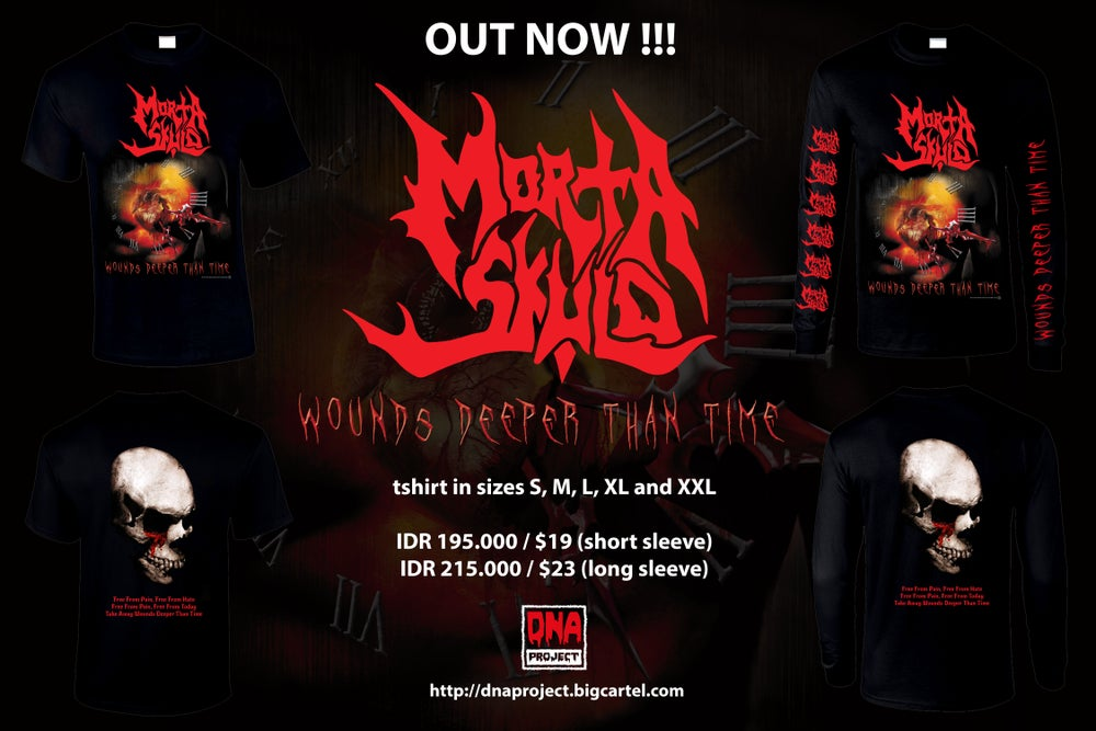 Image of Morta Skuld - Wounds Deeper Than Time