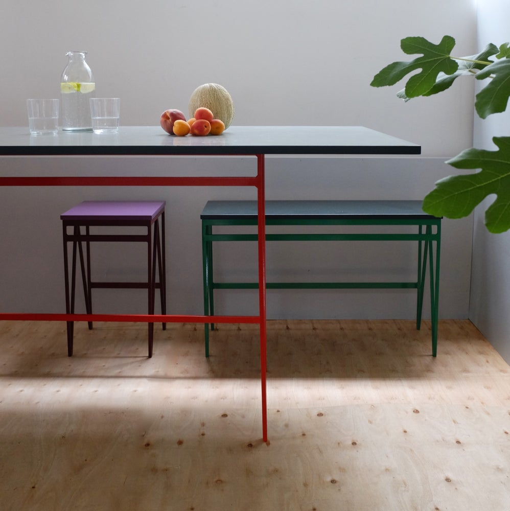 Image of Colour Play Bench medium | 91 Colour Combinations