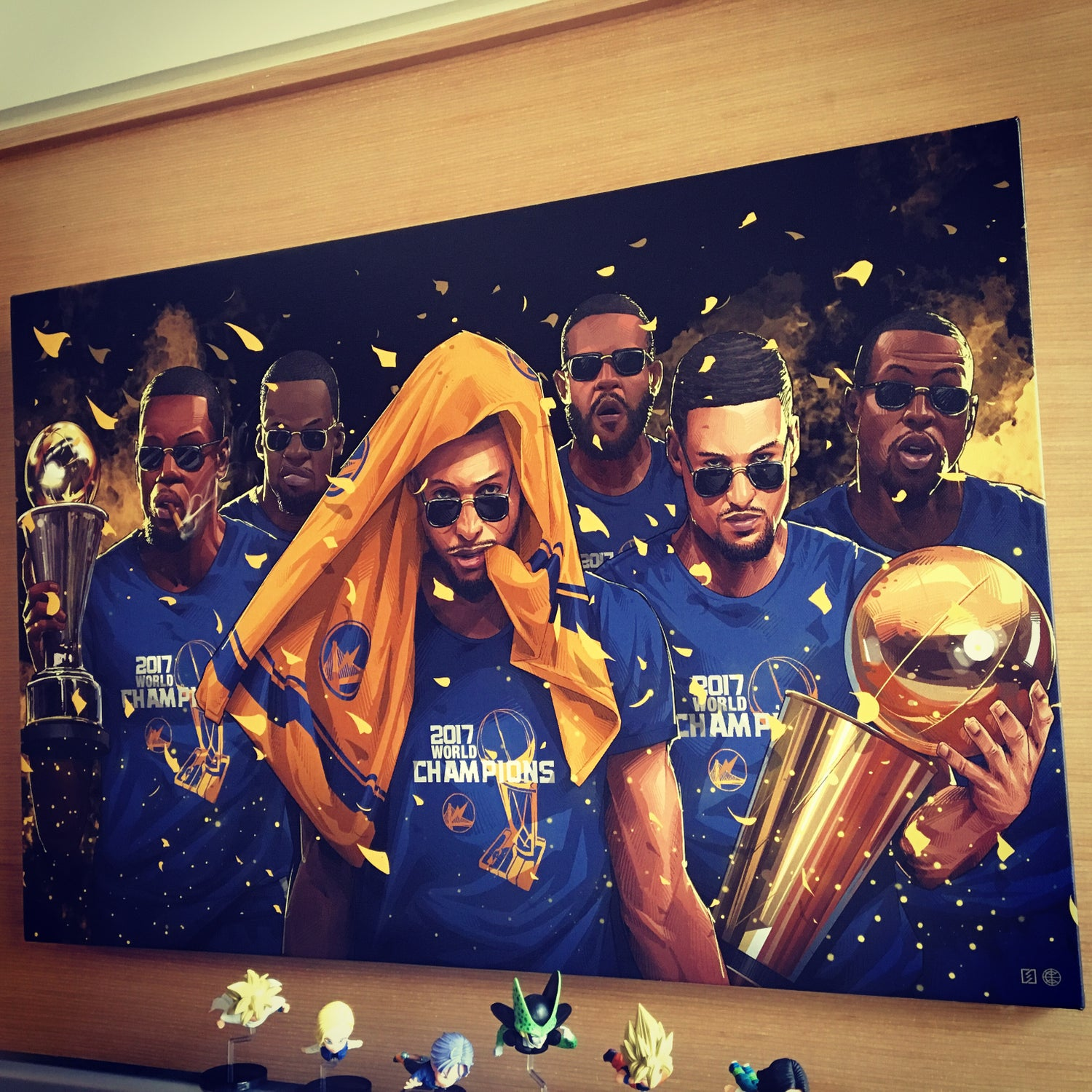 "Image of ""2017 CHAMPS"" CANVAS"