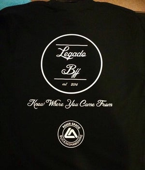 Image of Classic Black Legado BJJ Range with Patches