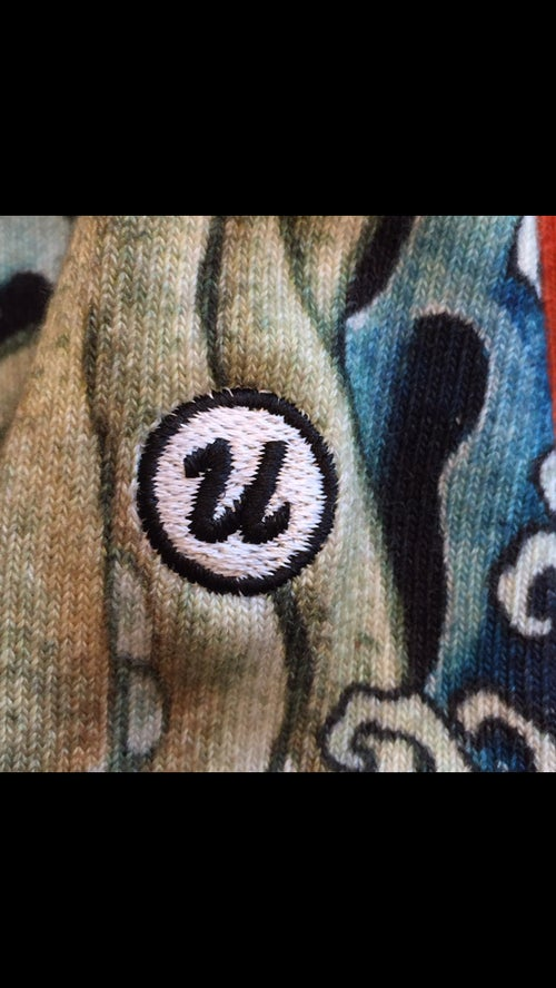 Image of IREZUMI SOCKS OCTOPUS BY UKIYOEMON