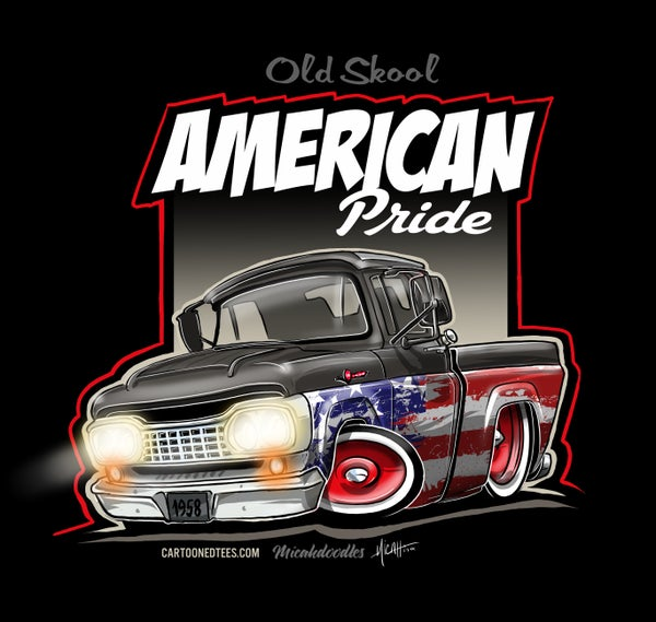 Image of '58 F100% Patriotic