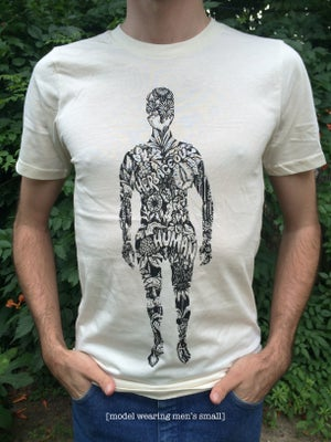 Image of HERBACEOUS HUMANOID T-SHIRT  [organic cotton]