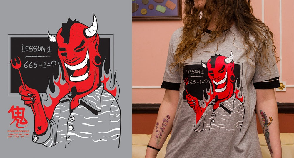 Image of Devil teacher TShirt