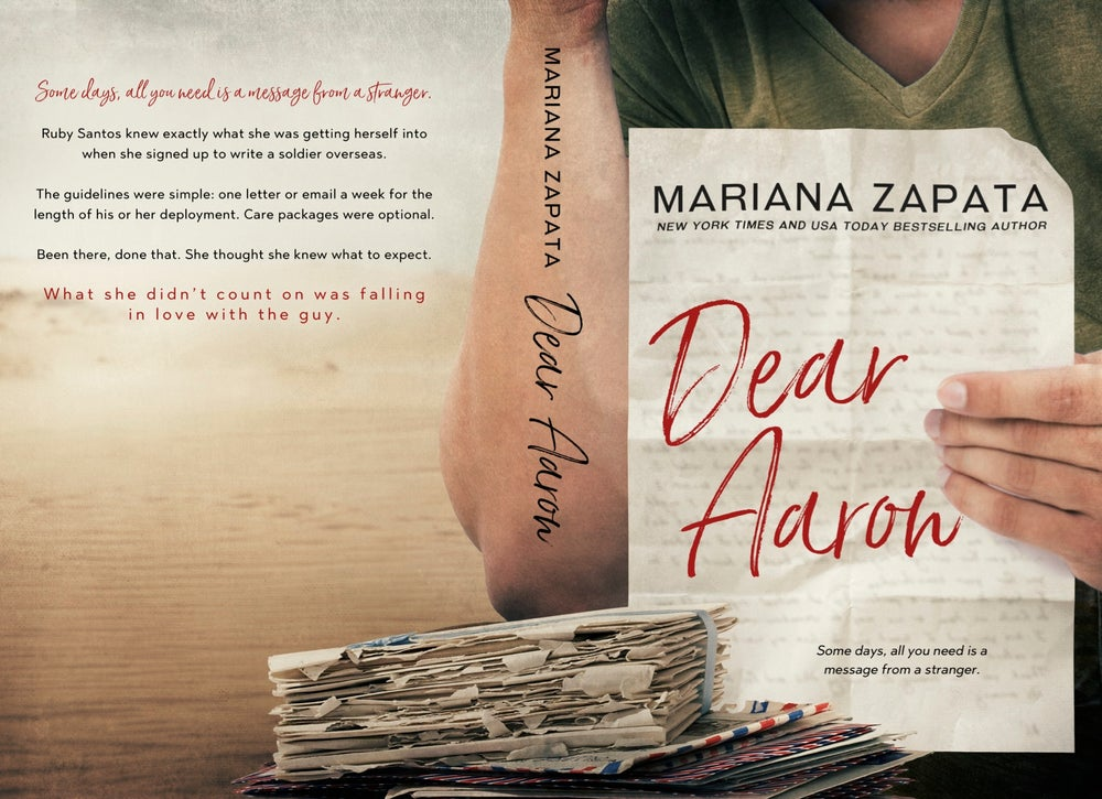 """Image of Signed Paperback """"Dear Aaron"""""""