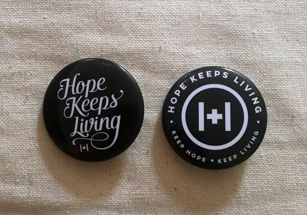 Image of Hope Keeps Living Pin