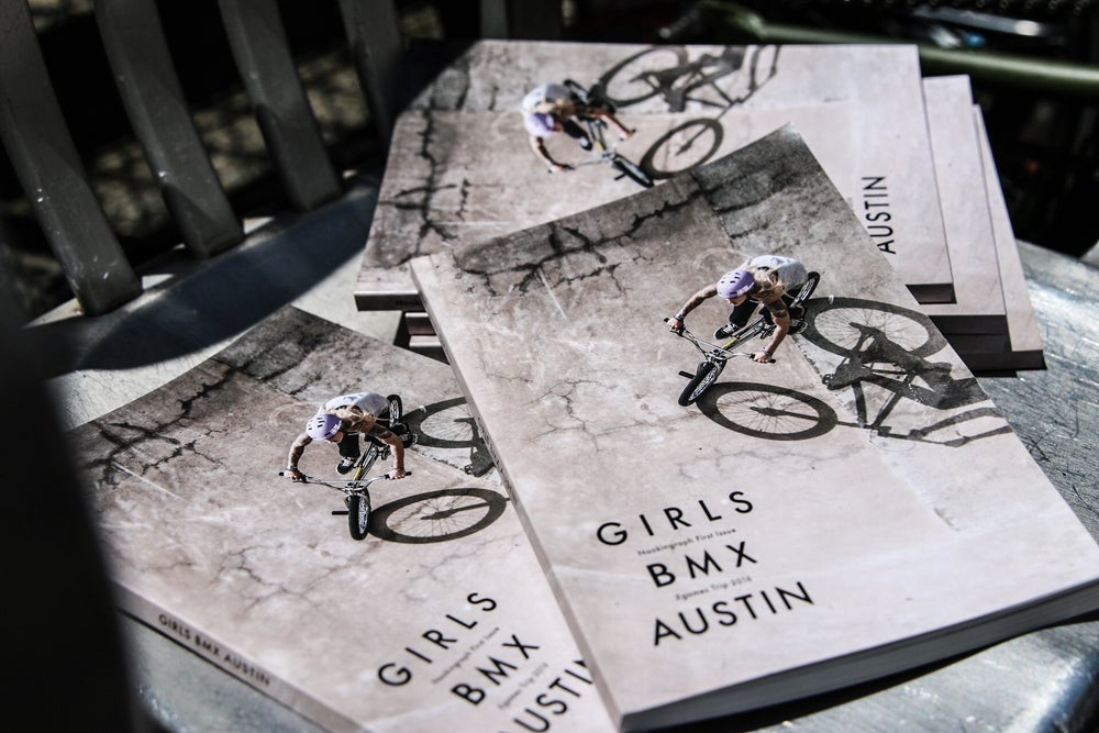 Image of Naokingraph first issue GIRLS BMX AUSTIN