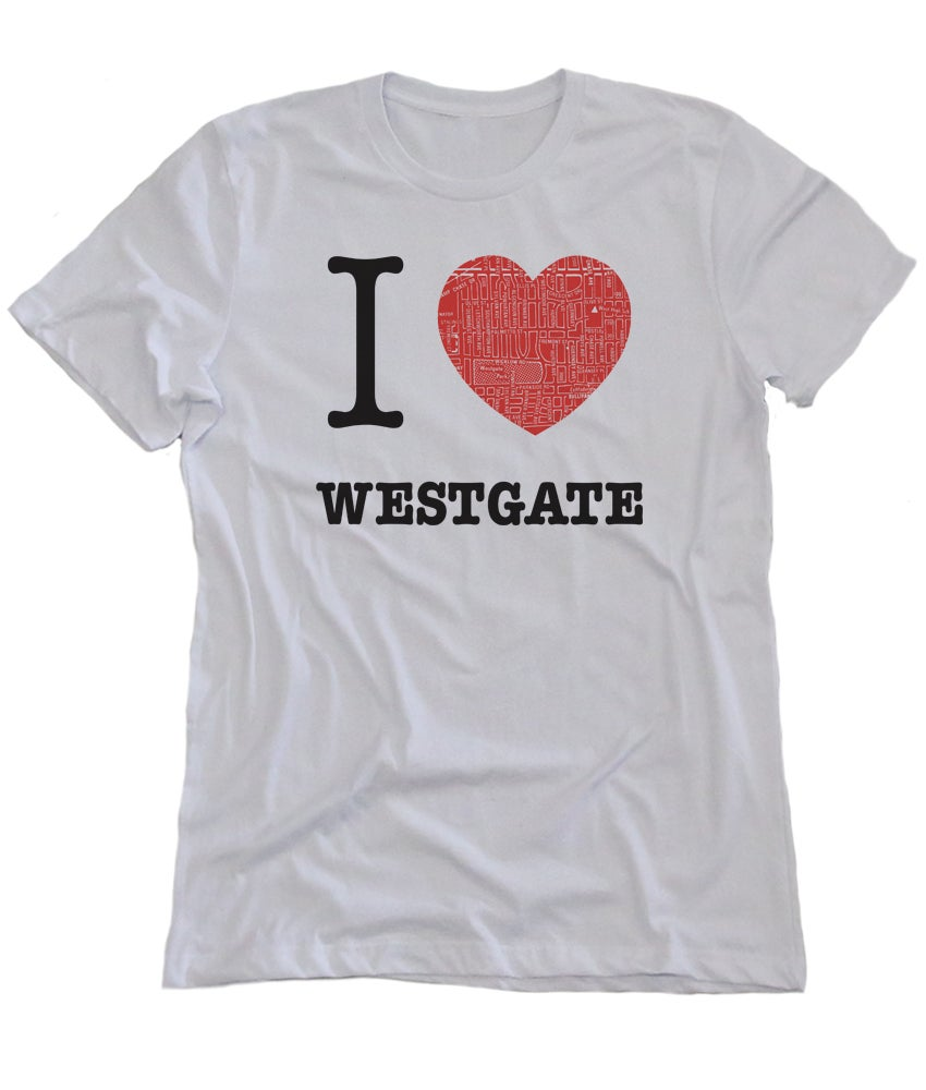 Image of I love westgate White Tee