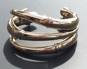 Image of Triple Tendril Cuff Bracelet #1