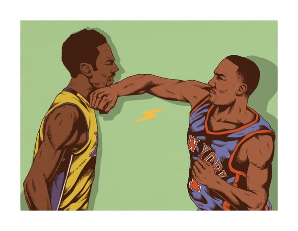 Image of Kobe vs Chris Childs