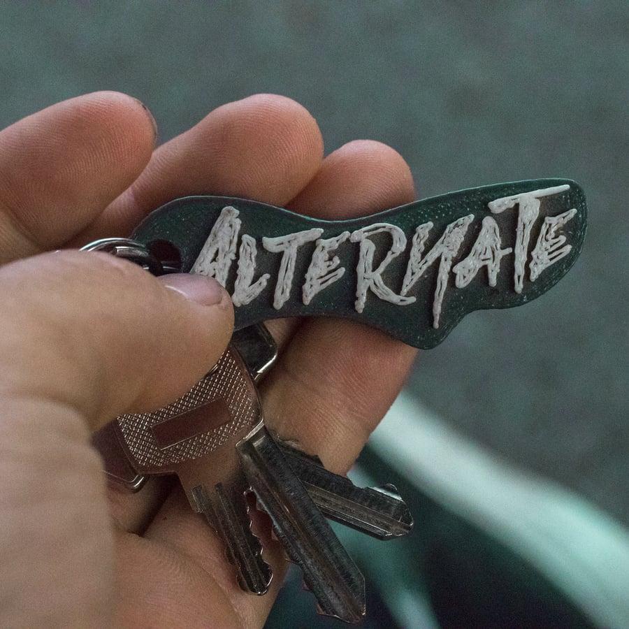 Image of Logo Keychain Black