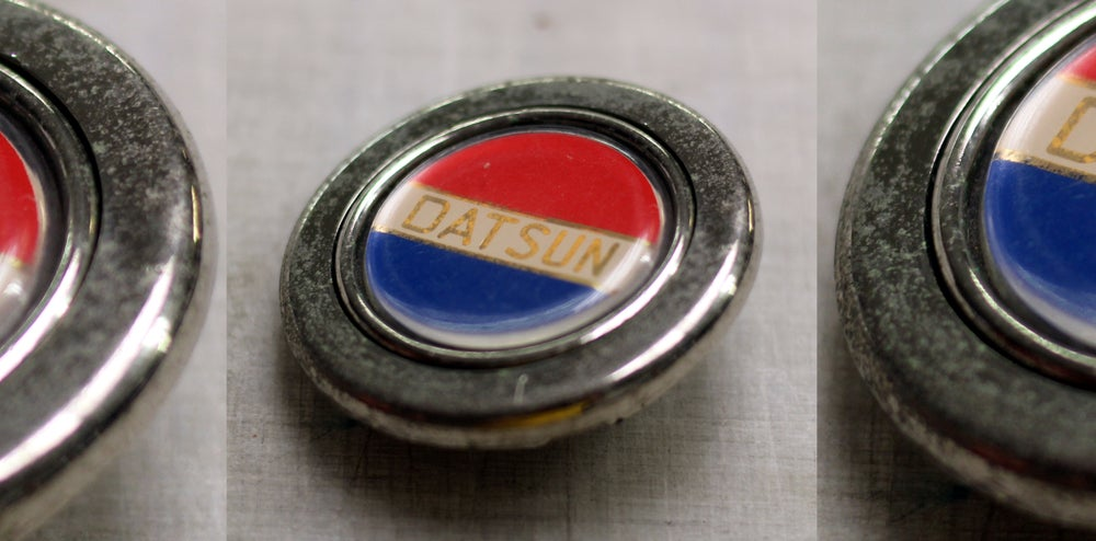Image of Original Datsun horn button