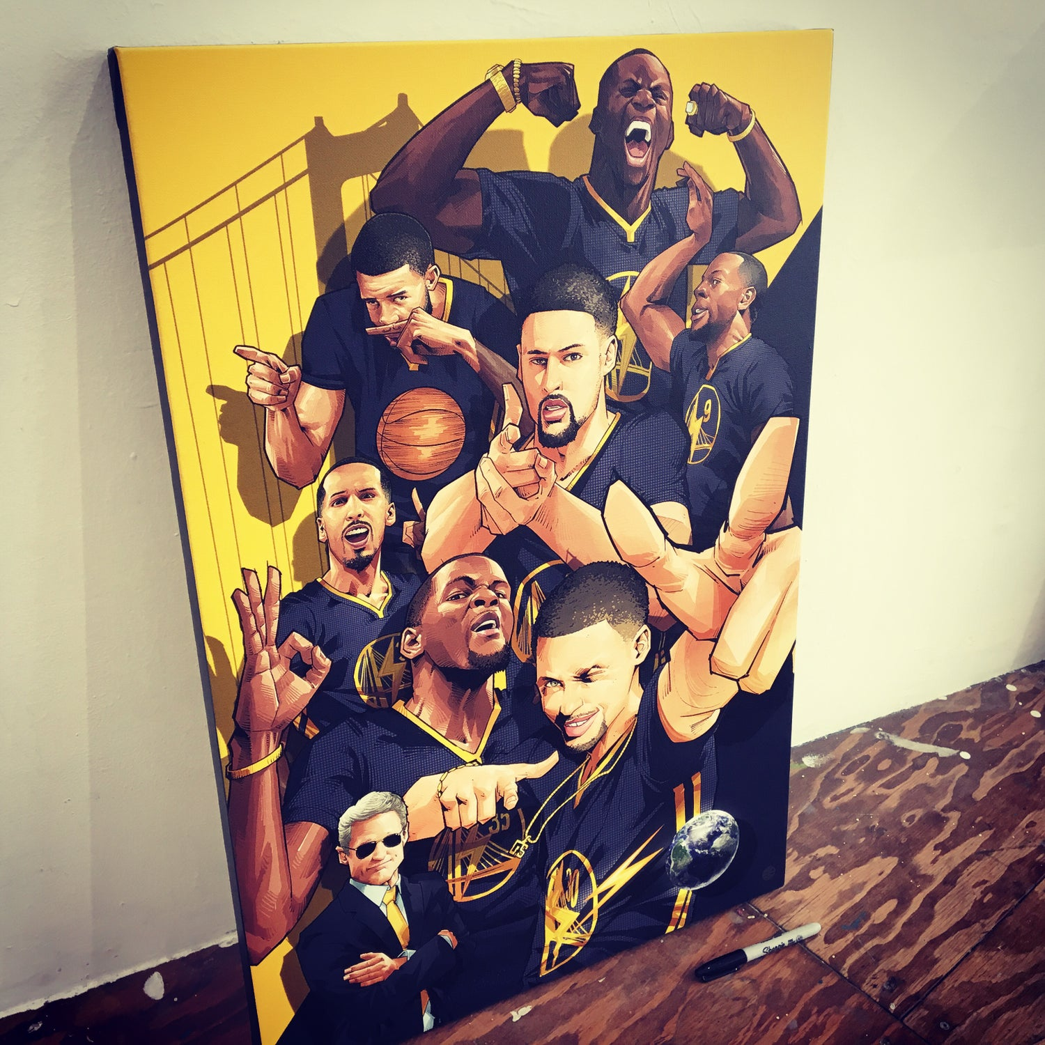 "Image of ""DATW GOLD"" CANVAS"