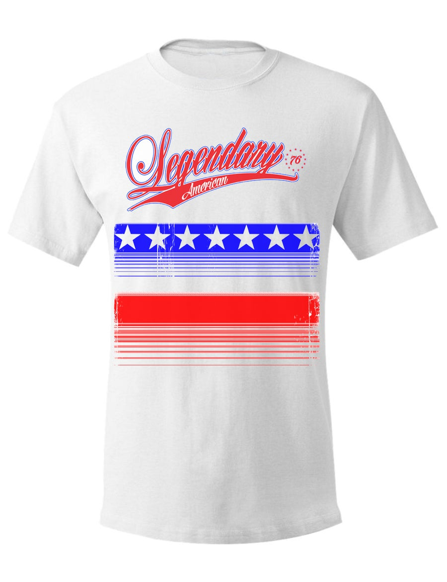 Image of Legendary American 76er Tee in white