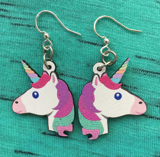 Image of Unicorn Earrings