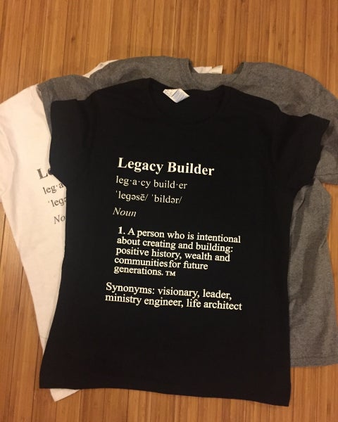 Image of Plus Size Legacy Builder/Brand Ministry Shirts